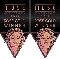 Muse Awards 2018 - 2x Rose Gold Winner for App Logo