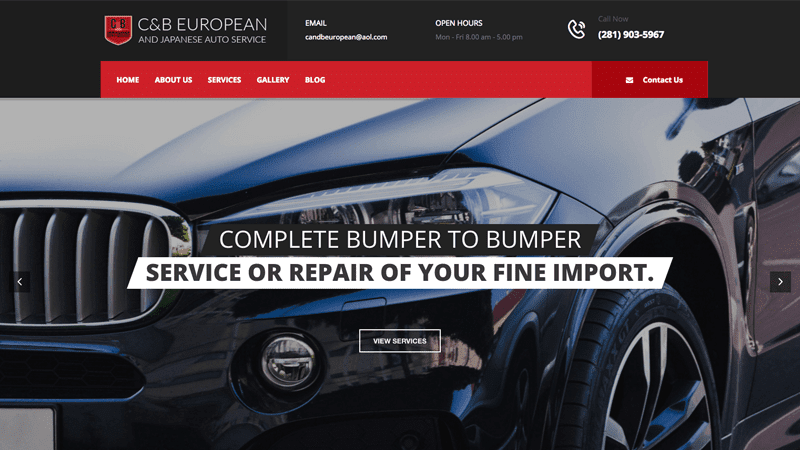 C&B European and Japanese Auto Service