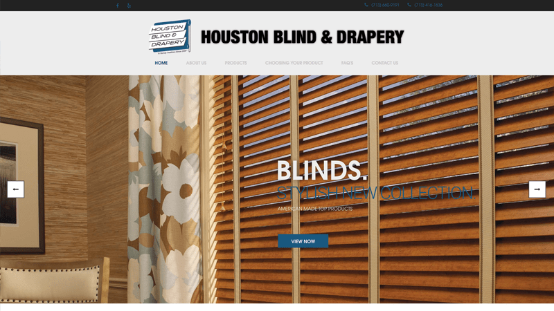 Houston Blind and Drapery